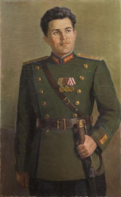 Картина «Портрет военного»