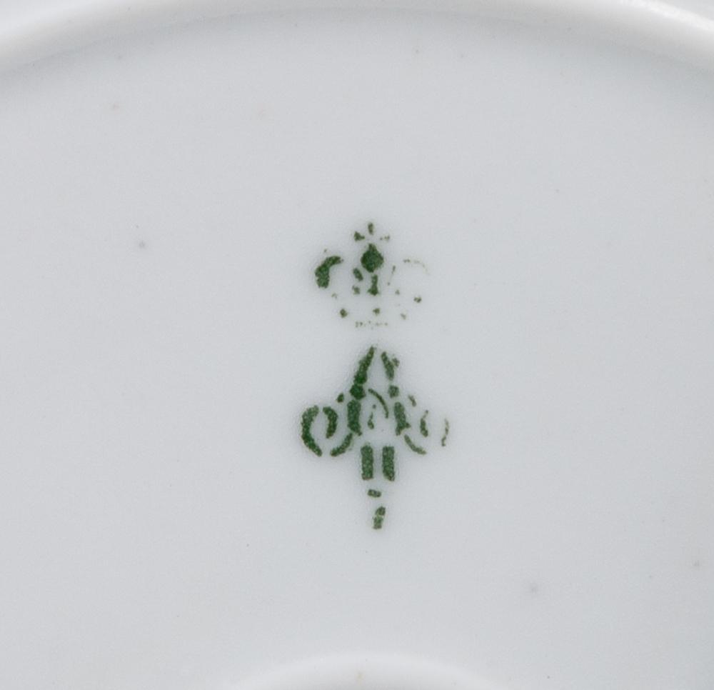 Парные декоративные тарелки с орлом Императора Александра II