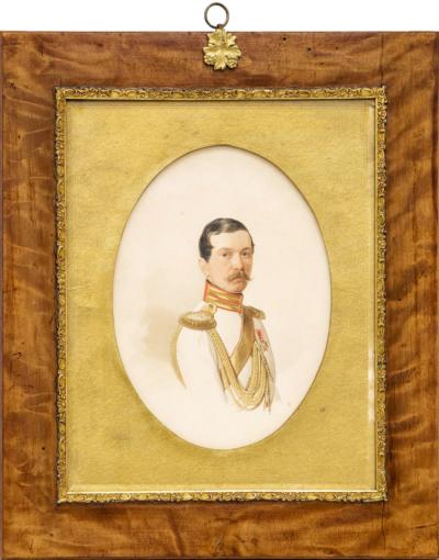 Портрет флигель-адъютанта Анненкова