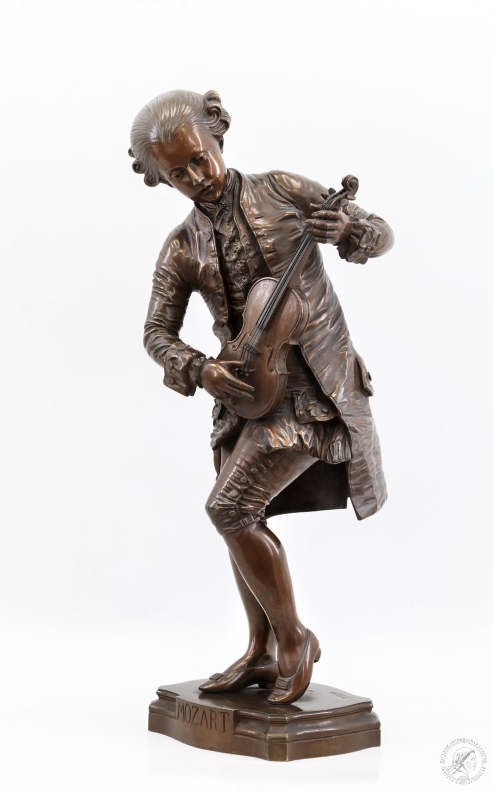 Скульптурная композиция «Моцарт»