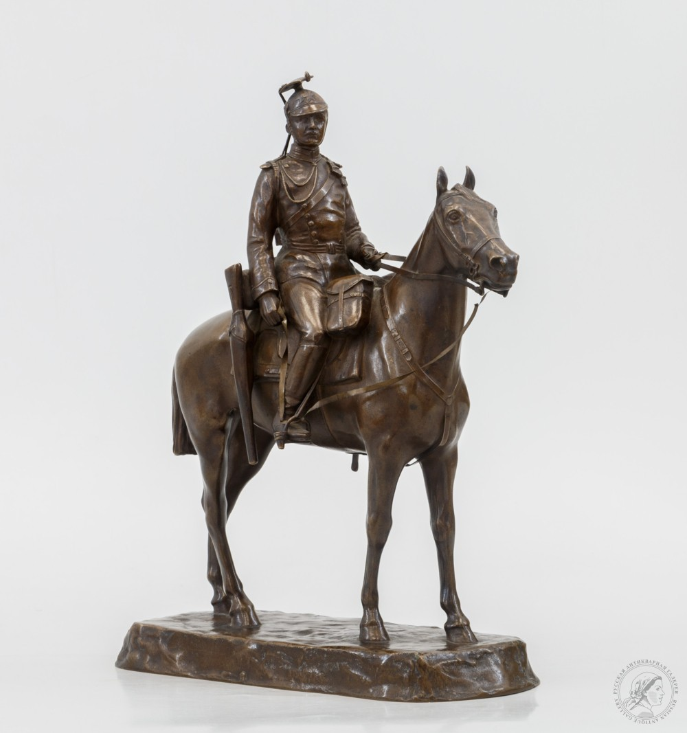 Скульптура «Саксонский улан»