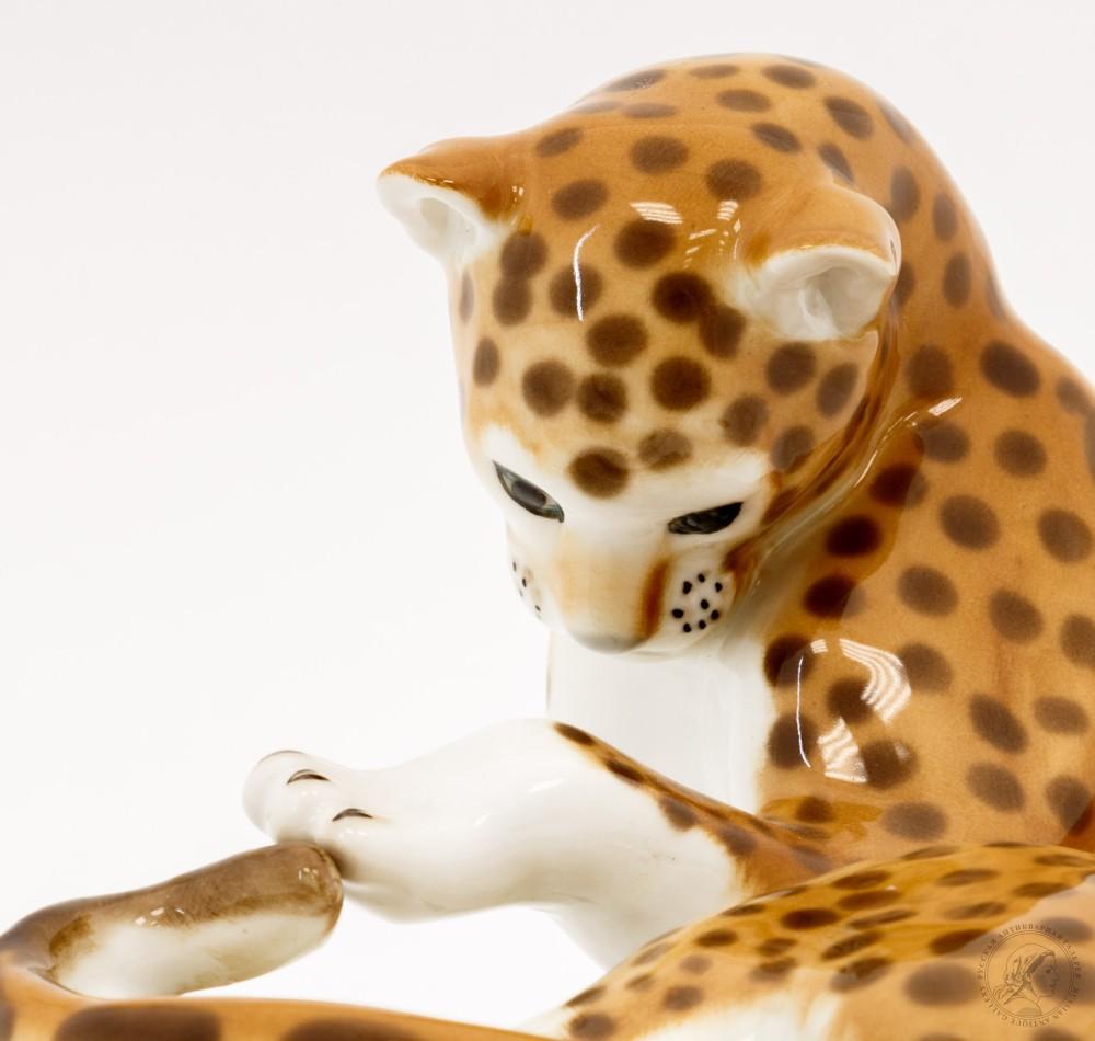 Статуэтка «Леопард большой»