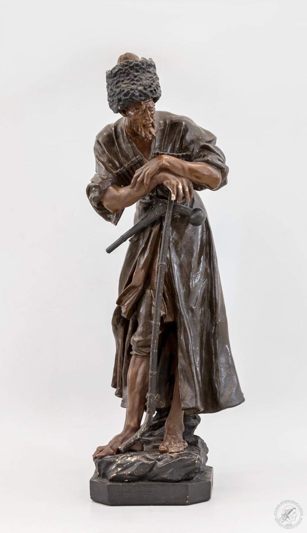 Скульптура «Имам Шамиль, чеченский лев»