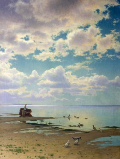 На берегу залива