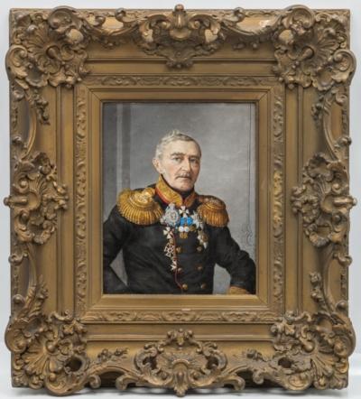 Картина «Портрет Никитина Алексея Петровича героя войны 1812 года» 1856 года