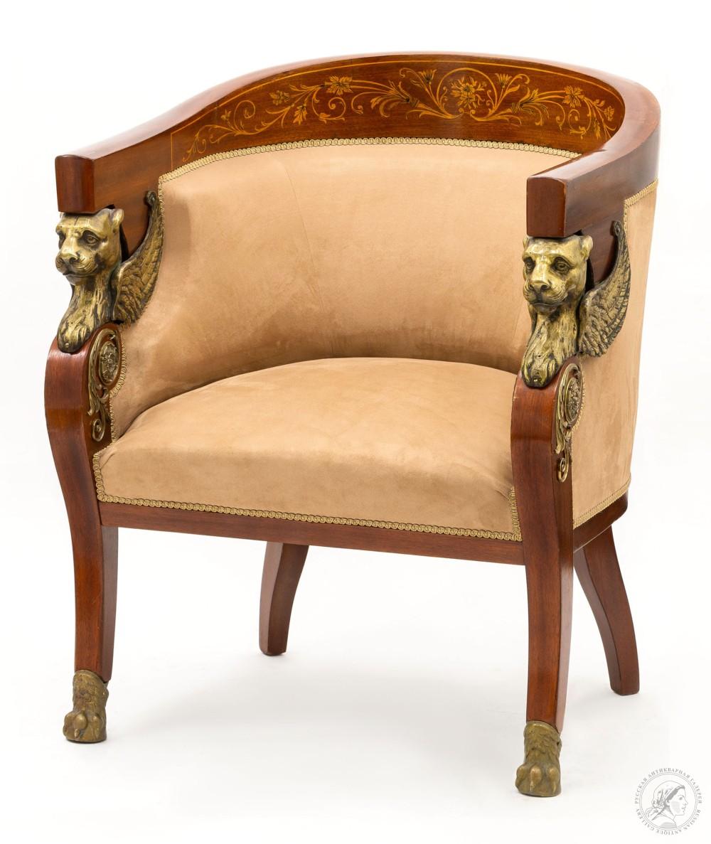 Покупка старинной мебели - кресло