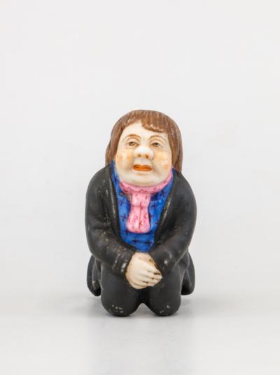 фарфоровая скульптура чиновник гарднер