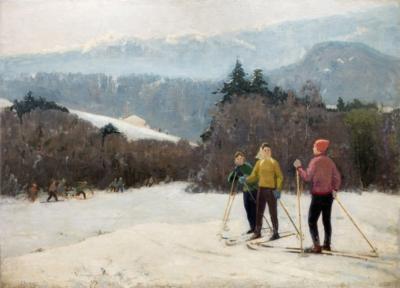 Ангелин Лыжники