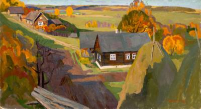 Картина «Осень. Изборг»
