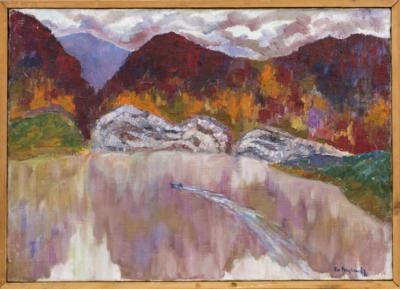 Картина «Горное озеро»