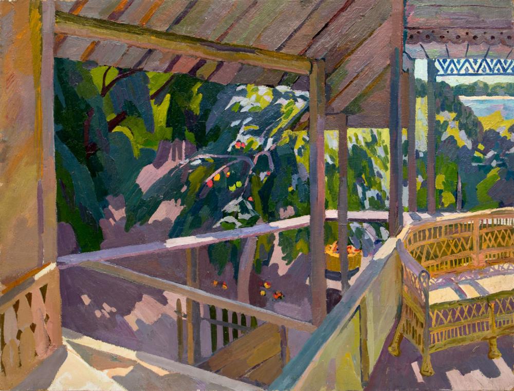 Картина «Раздоры. Дом художника. Терраса»
