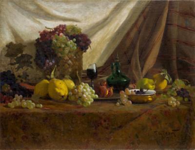 Картина «Натюрморт с виноградом»