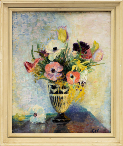 Картина «Букет садовых цветов»
