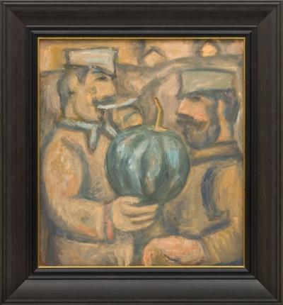 Картина «Двое с арбузом»