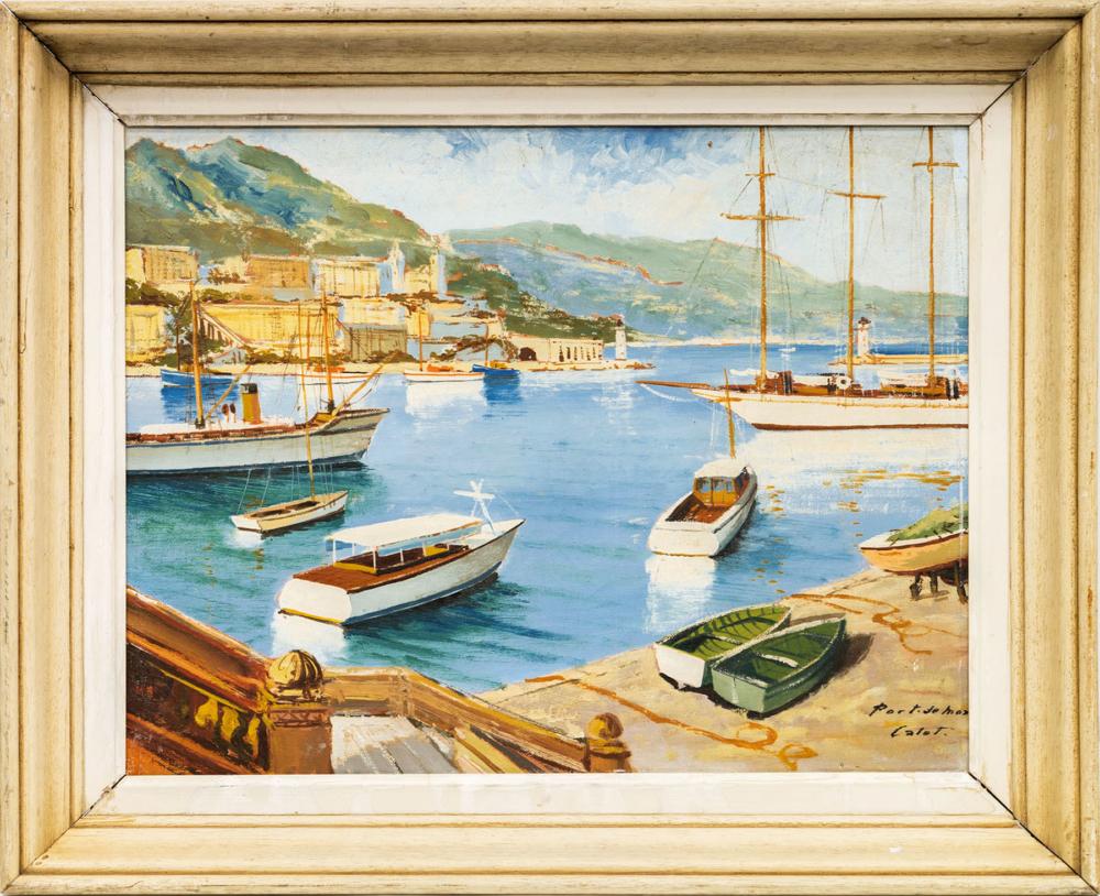 Картина «Порт Монако»