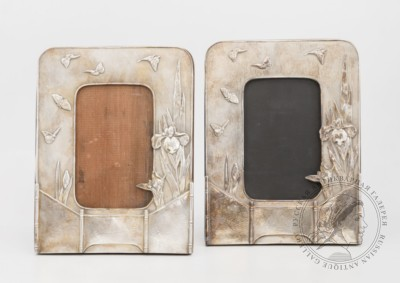Парные рамки Ирисы в стиле модерн Tiffany