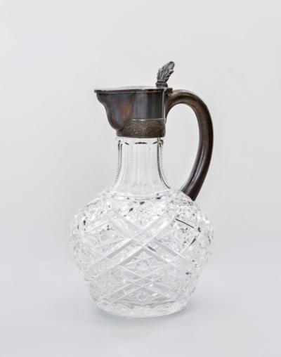 Хрустальный графин в серебре Владимиров