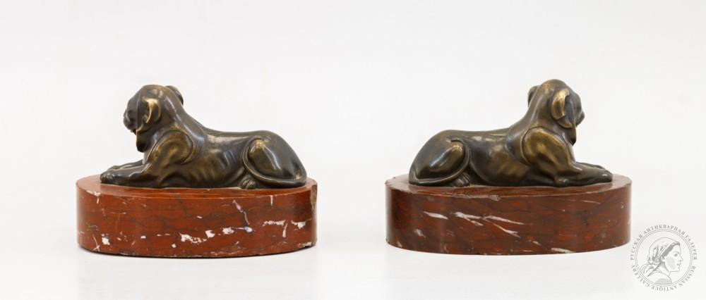 Парные декоративные элементы «Львы»