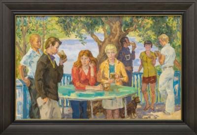 Картина «Летнее кафе»