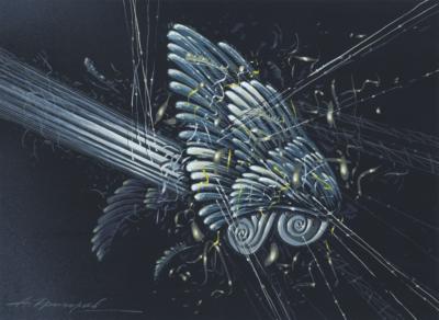 Рисунок «Кинетическая композиция»