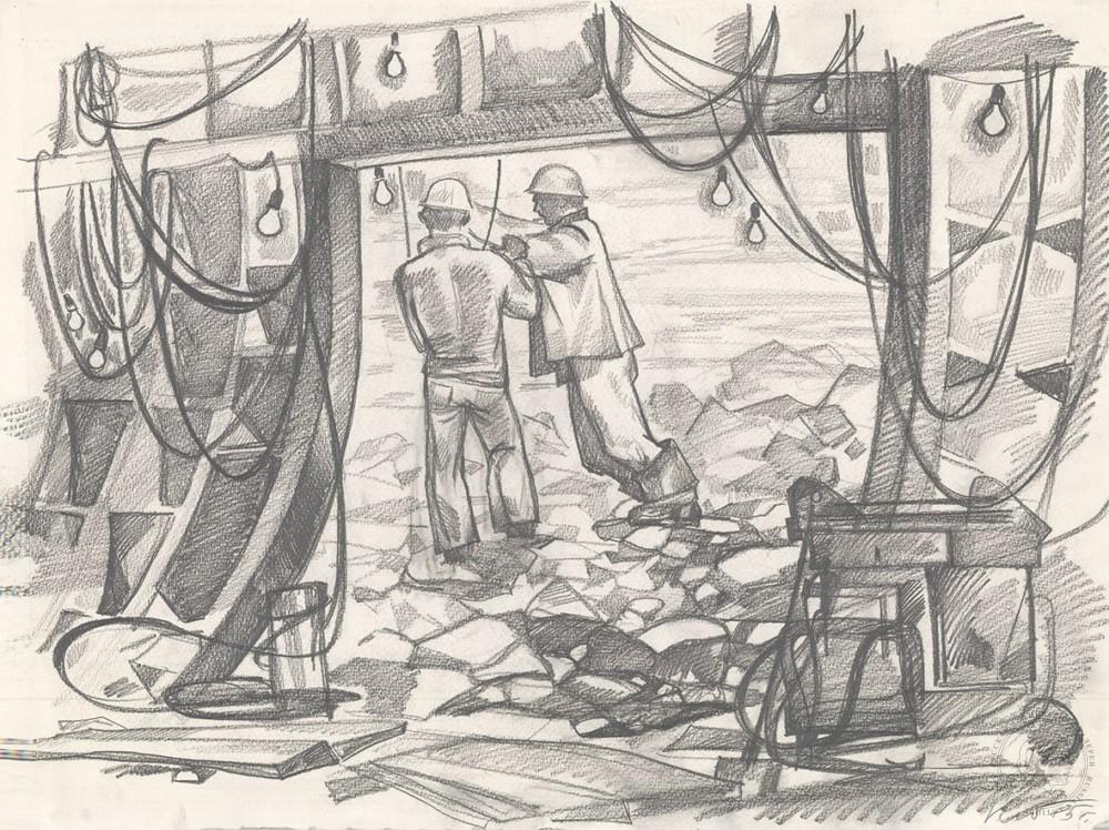 Рисунок «Проходчики»