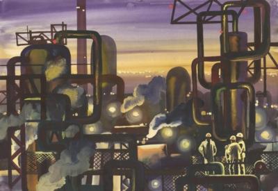 Рисунок «Завод пластических масс»