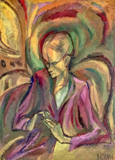 Картина «Портрет Л. Самбека»