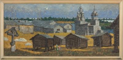 Картина «Одигитриевская церковь. Кимжа.»