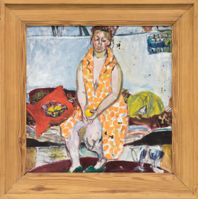 Картина «Женщина в халате»