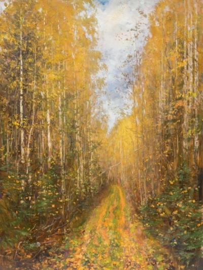 Картина «Осенняя дорога»