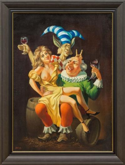 Картина «Пирушка»