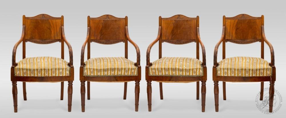 Кресла в стиле Ампир