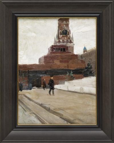 Картина «Зима. Кремль».