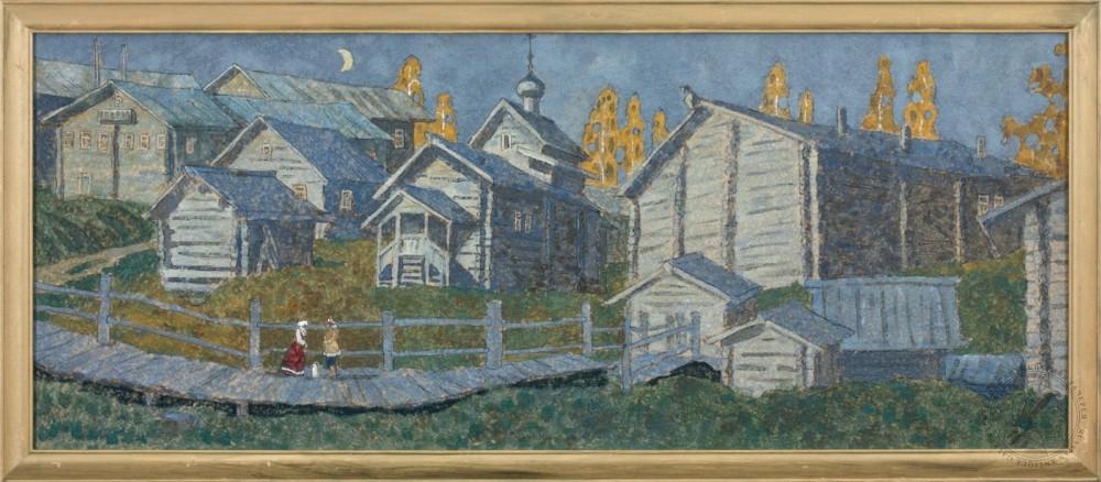 Картина «Где песня сложена из дерева»