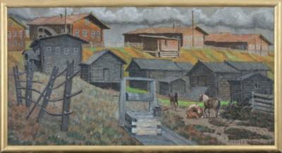 Покой Мезенской деревни