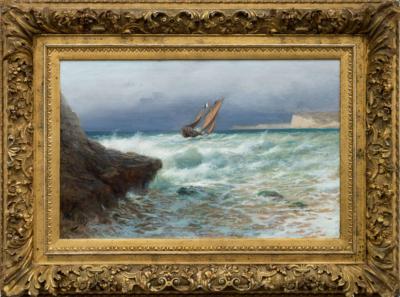 Лагорио Парусник в море