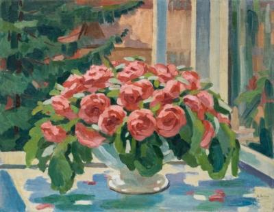 Натюрморт «Букет с розами»