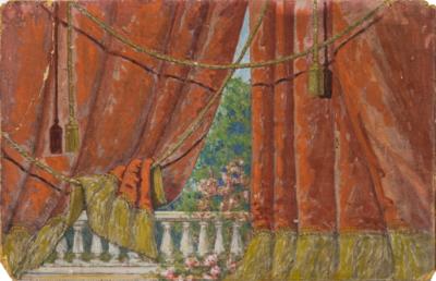 Картина «Эскиз занавеса»