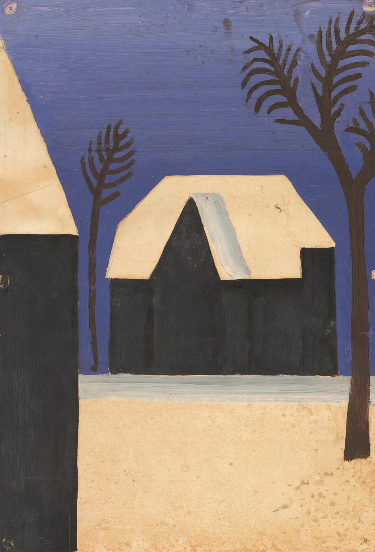 Картина «Зима в Подмосковье»