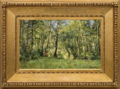 Картина «Лесной пейзаж»