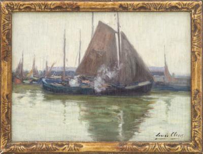 Луи Клесс Этюд с лодками