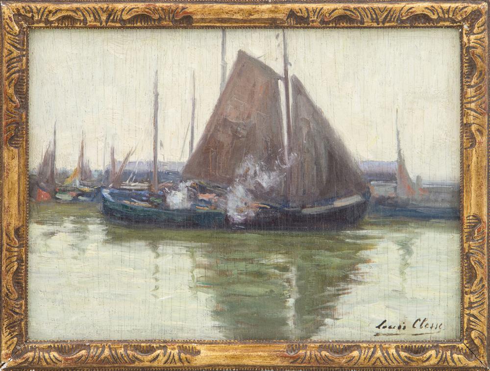 Картина «Этюд с лодками»