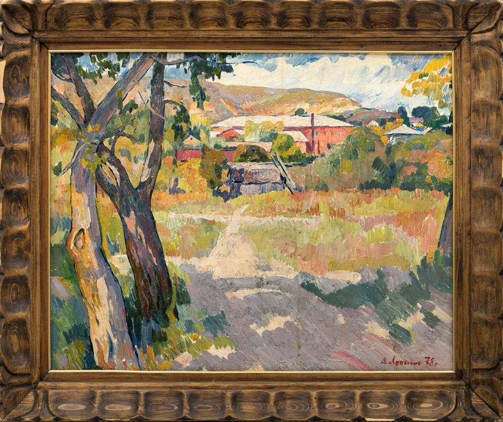 Картина «В станице Раздорской»