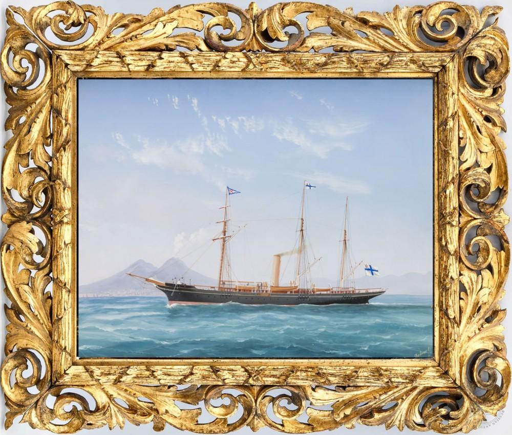 Коллекционная живопись - морской пейзаж