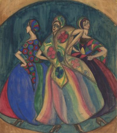 Магидсон Театральный эскиз Танец