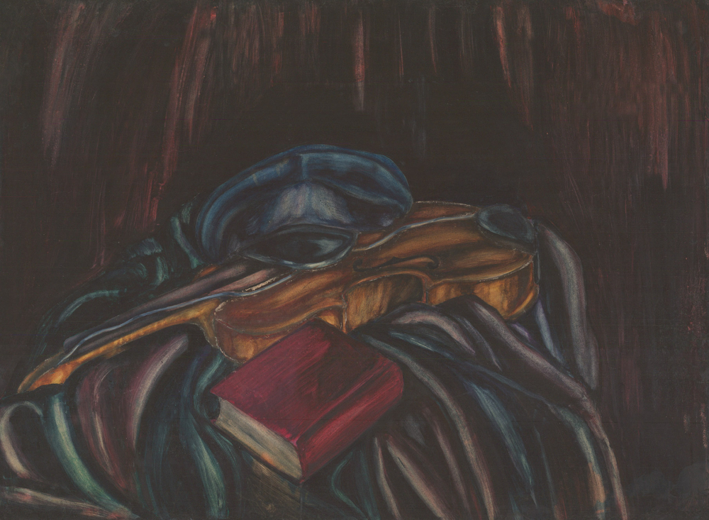 Рисунок «Натюрморт со скрипкой»