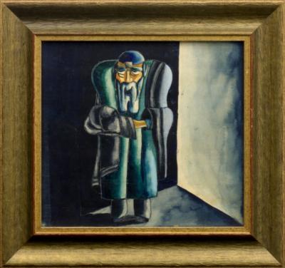 Рисунок «Еврей. Эскиз театрального костюма»