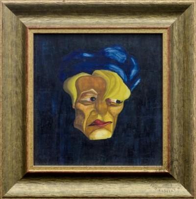 Рисунок «Голова. Эскиз театрального грима»