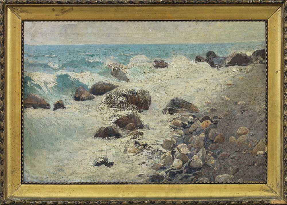 Картина «Камни у берега»