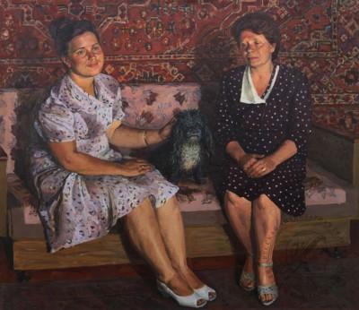 Картина «Мать и дочь»